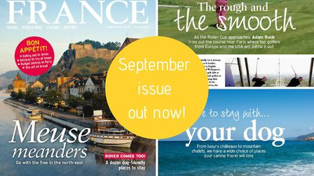 The September 2018 issue of FRANCE Magazine is now on sale