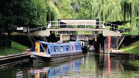 It might not be pretty, but Colin P Witter Lock in Stratford is certainly distinctive (photo: Derek