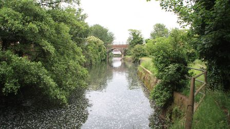 The top end of the Crayford Creek, which branches off the Dartford Creek (photo: Martin Ludgate)