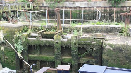 Despite over 30 years of disuse, the lock gates are in surprisingly good condition and may be capabl