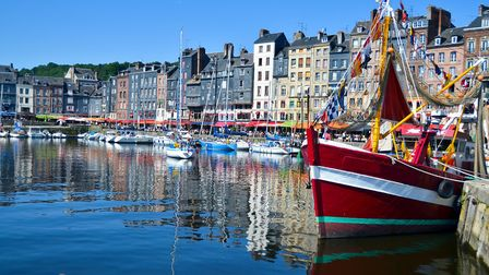 The beautiful seaport town of Honfleur, Calvados ©GettyImages/BruceCampos
