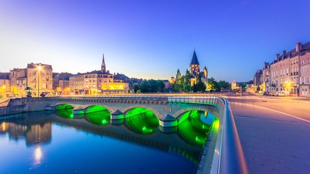 Metz is fantastic for art and history, leafy promenades and riverside parks ©GettyImages/Gatsi