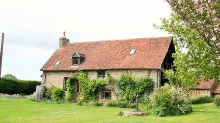 Great value for money for this three-bedroom house in Orne, Normandy
