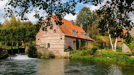 An 18th-century mill close to the ferry port of Calais