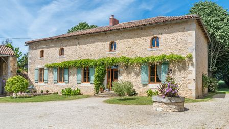 A former hamlet is now a stunning home and gîte business in Vienne