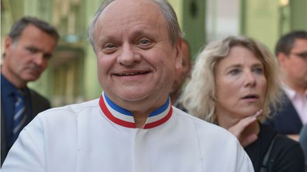 Joel Robuchon was awarded 31 Michelin stars during his career. Pic: ISA HARSIN/SIPA/REX/Shutterstock