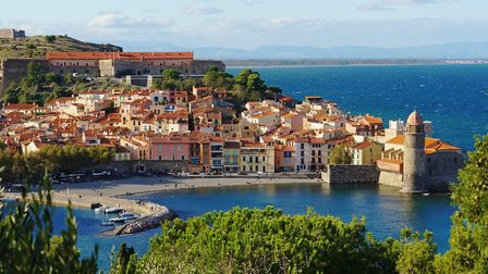 The beautiful harbour town of Collioure in Pyrenees-Orientales Collioure, Pyrenees-Orientales ©vilai