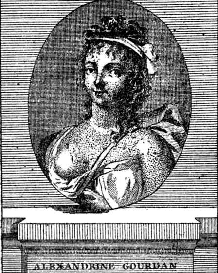 Margerite Gourdan, one of the most famous brothel owners in Paris of the 18th century
