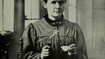 Portrait of Marie Curie Library of Congress