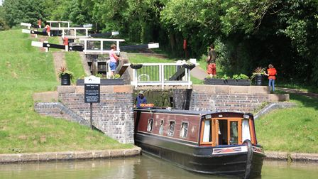 Watford Locks: hours of operation limited (photo: Martin Ludgate)
