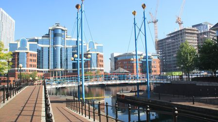 Must see: Salford Quays. Formerly the Salford Docks which formed the terminus at the Manchester end