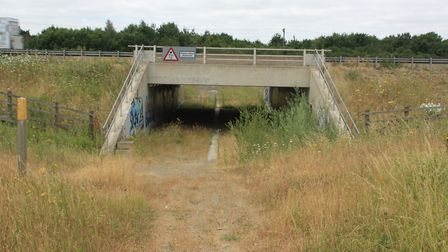 New A421 bridge provided for the waterway near Stewartby: why couldn't the same thing be done where