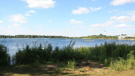 The waterway would start by crossing Milton Keynes' Willen Lake (photo: Martin Ludgate)