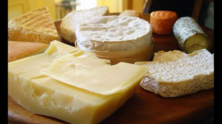 A delicious selection of cheeses. Pic: Chris Buecheler/Wikimedia Commons