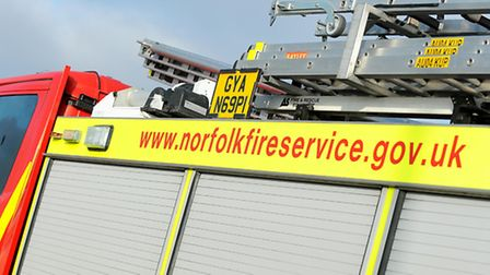 Firefighters were called to a flat in Aylsham Road.