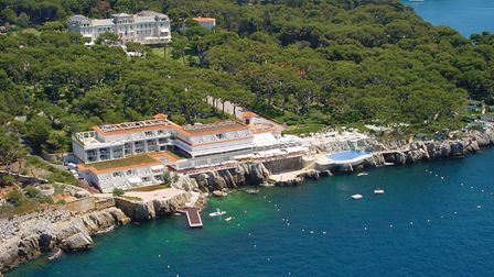 The luxurious Hotel du Cap-Eden-Roc in Antibes. Pic: Oetker Collection