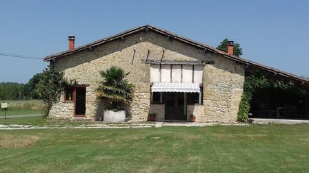 A three bedroom barn conversion with large grounds in Lot et Garonne