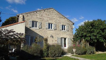 A detached converted barn near Chef Boutonne in Deux Sèvres