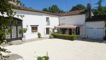 A pretty converted set of barns in Charente