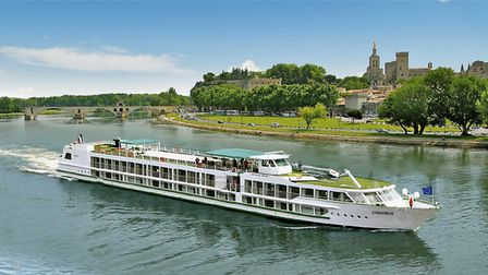 Exploring the French countryside aboard the MS Camargue.