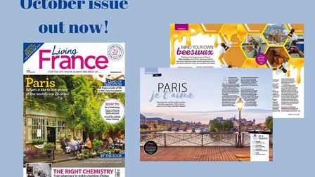The October 2018 issue of Living France magazine is on sale now