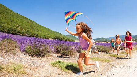 According to the study, 73 per cent of families love France for their children's quality of life © S