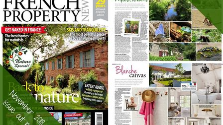 The November 2018 issue of French Property is now available to buy