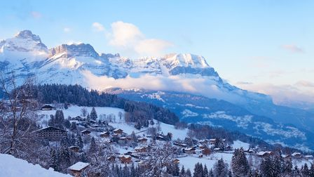 Combloux is known as the Pearl of the Alps but remains lovely and uncrowded ©anyaberkut - Getty Imag