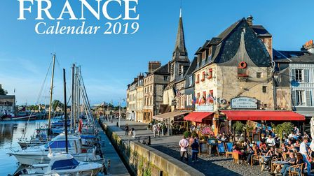 Heavenly Honfleur in Normandy is the cover star of the FRANCE Calendar 2019. Pic: Franck Guiziou/hem