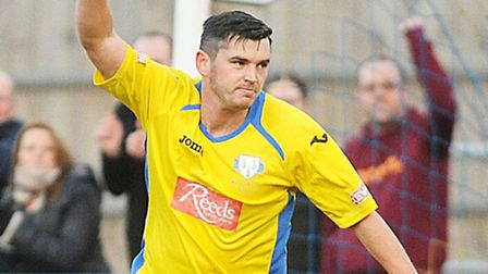 Rob Duffy scored his third penalty in three matches, and his 12th goal of the season, during King's