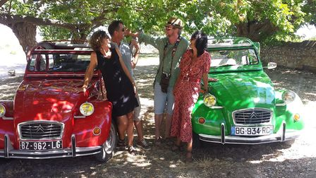 Take to the road in an authentic Citroen 2CV on this exciting wine tour with 24heurestour