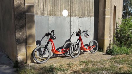 Leave the beaten track on an electric all-terrain scooter