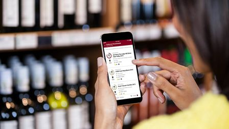 The free app is designed to be 'the sommelier in your pocket