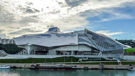 Musee des Confluences in Lyon is an architectural gem. Pic: Albert Aguilera