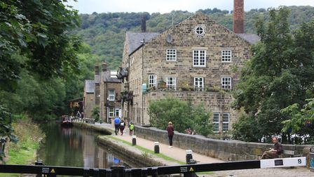 The Rochdale Canal has no reopened (photo: Martin Ludgate)