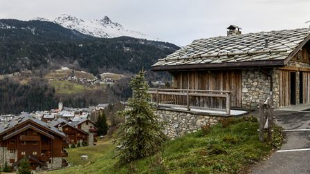 The Meribel village is set within the Vanoise National Park (c) MGM French Properties