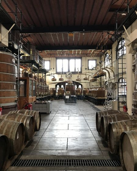Barrels of fun in Calvados in our Bon Appetit section. Pic: Lara Dunn