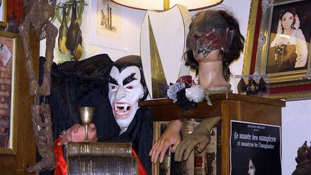 Happy Halloween! Celebrate the scariest day of the year at the Musee des Vampires in Paris. Pic: Flu