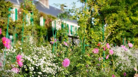 Monet's beautiful house and garden in Giverny, Normandy. Pic: Fondation Claude Monet, Giverny