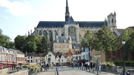 Amiens Cathedral picture VvoeVale iStock Editorial GettyImages Plus