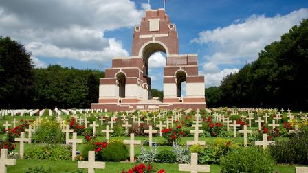 Thiepval Memorial designed by Sir Edwin Lutyens picture Jonathan Nicholls iStock editorial GettyImag