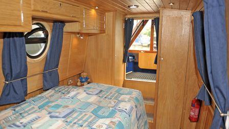 The perky colour scheme features throughout