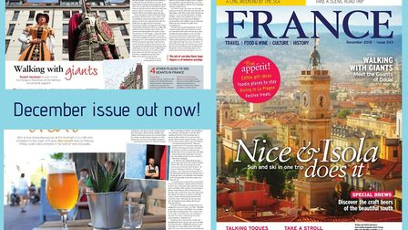 Have you got your copy of FRANCE Magazine's December issue yet?