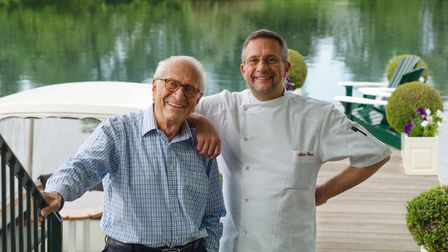 Michel and Alain Roux at The Waterside Inn