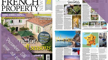 The December 2018 issue of French Property News is now on sale!