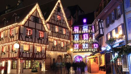Christmas time in Colmar, Alsace Pic: Pixel-68 - Getty Images/iStockphoto