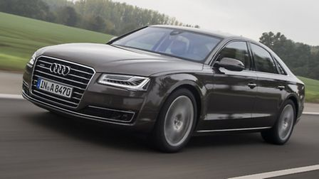 Updated Audi A8 sees efficiency improvements to the engines, eye-opening new technology and even mor
