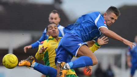 Jake Reed could be set to return for Lowestoft's trip to Billericay on Tuesday night.