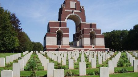 Thiepval Memorial, near to which a Garden of Peace will be created. Pic: Amanda Slater, CC BY SA 2.0