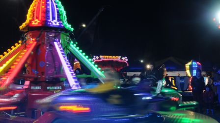 All the fun of the fair at the Anderton Boat Lift Firework Spectacular